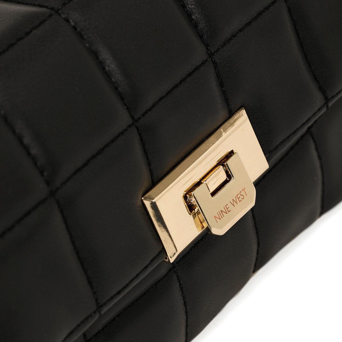 SIDERNO Siyah Kadın Çapraz Çanta