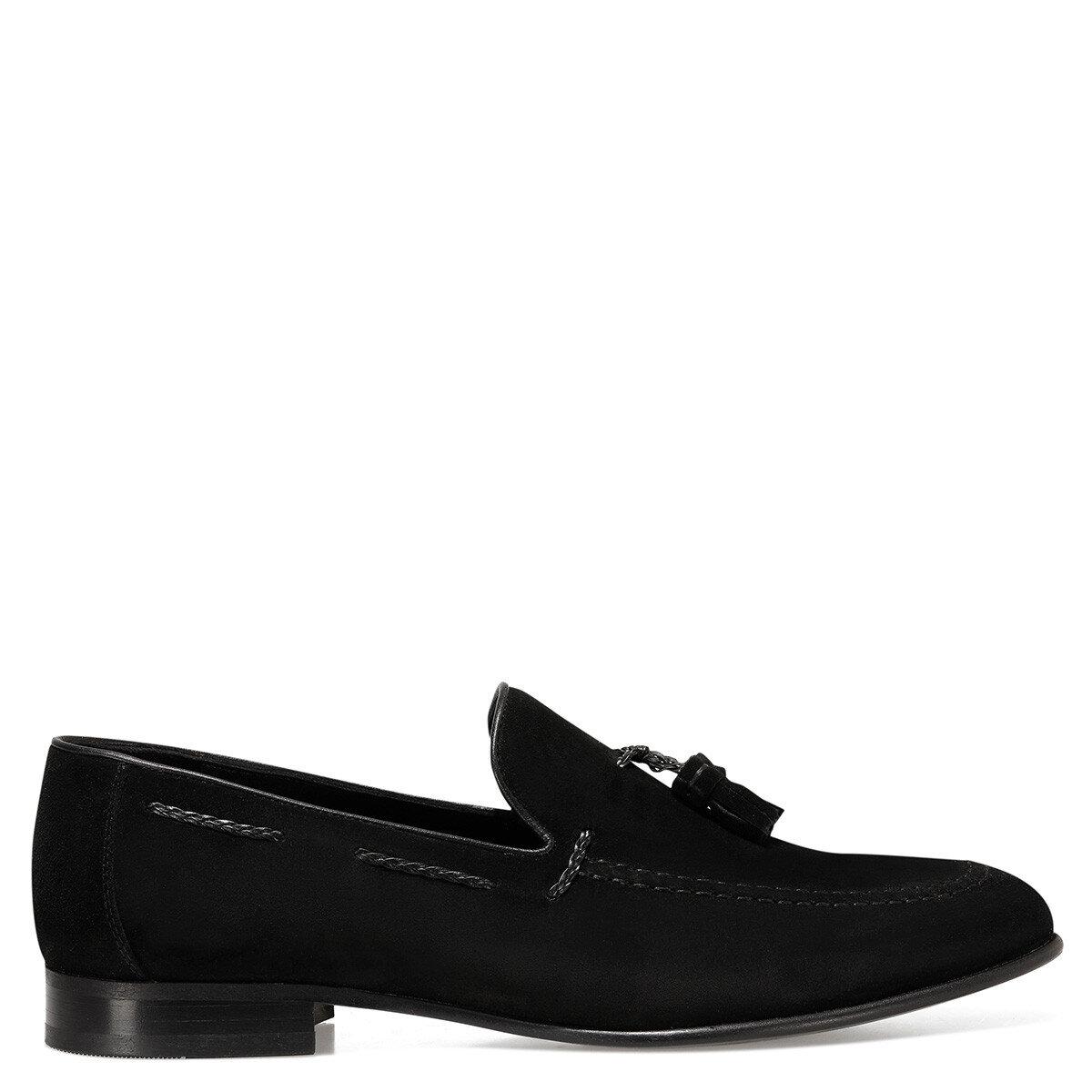 PAOLO Siyah Erkek Loafer
