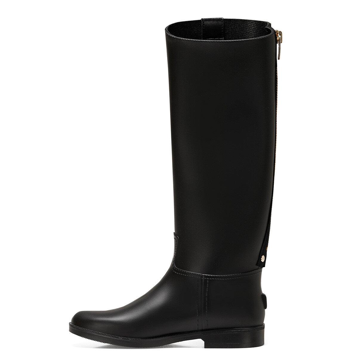 SOLE Siyah Kadın Yağmur Çizmesi