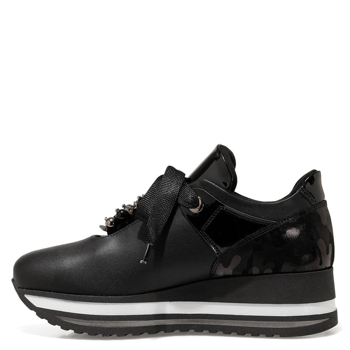 VAMUR Siyah Kadın Comfort Ayakkabı