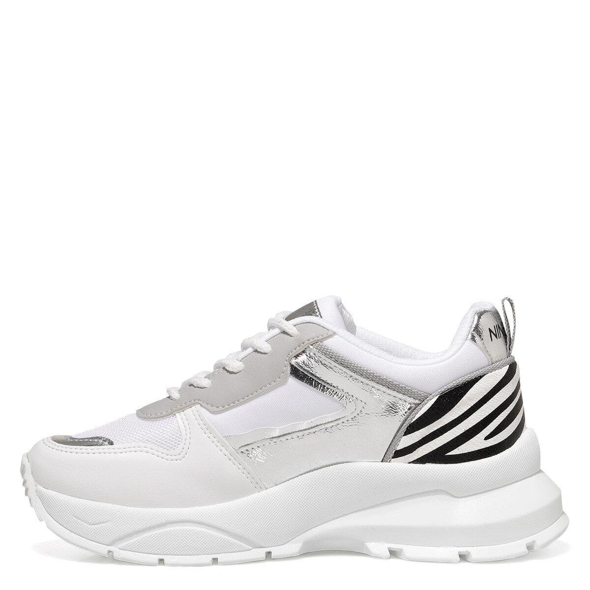 ZEBINA Beyaz Kadın Sneaker