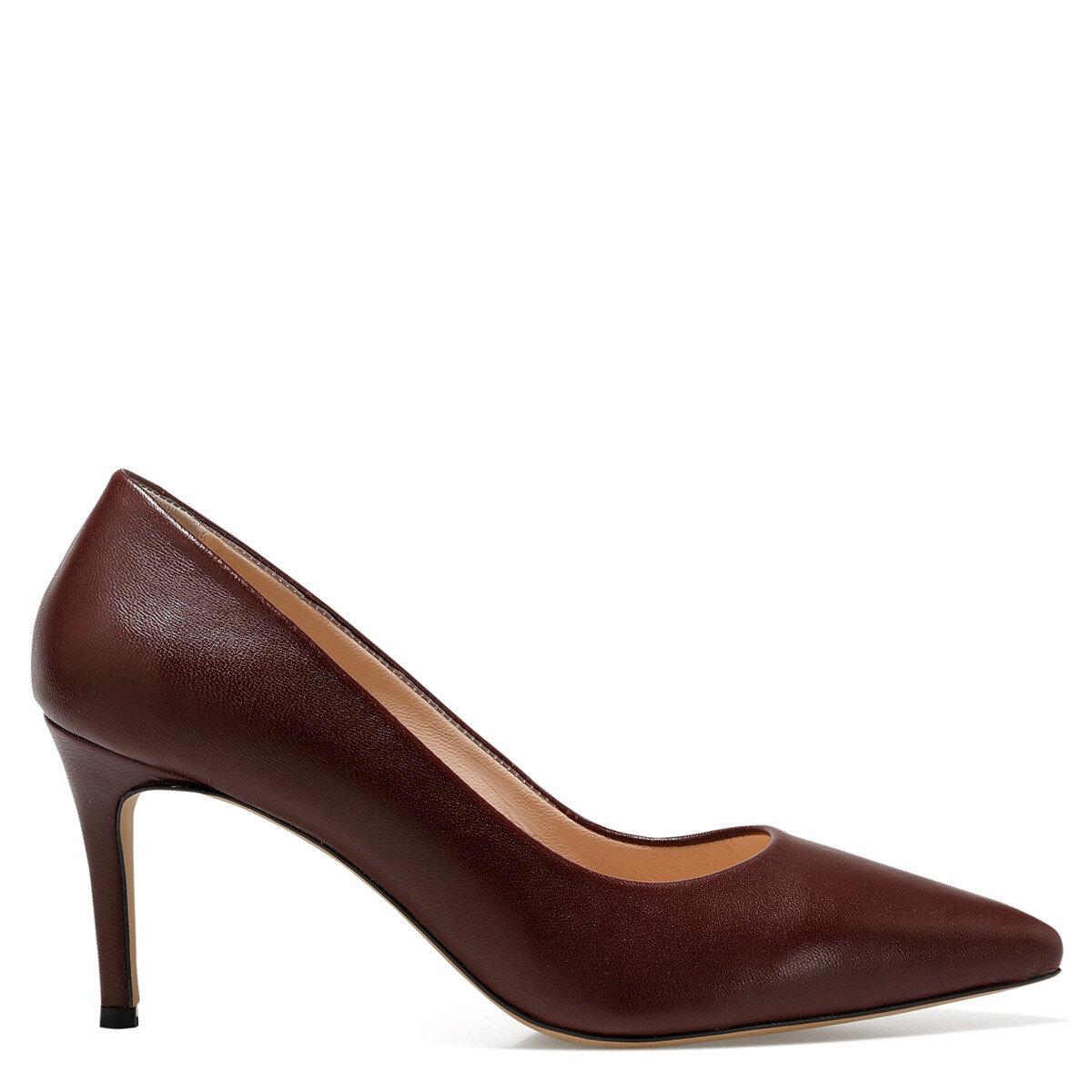 CAVIR Bordo Kadın Gova Ayakkabı
