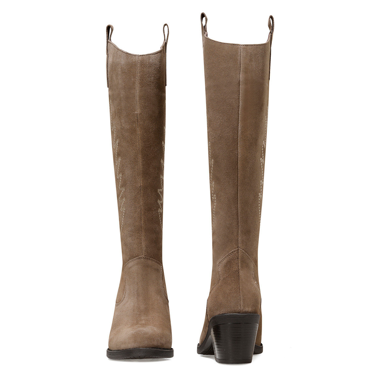 COSME2 Vizon Kadın Topuklu Çizme