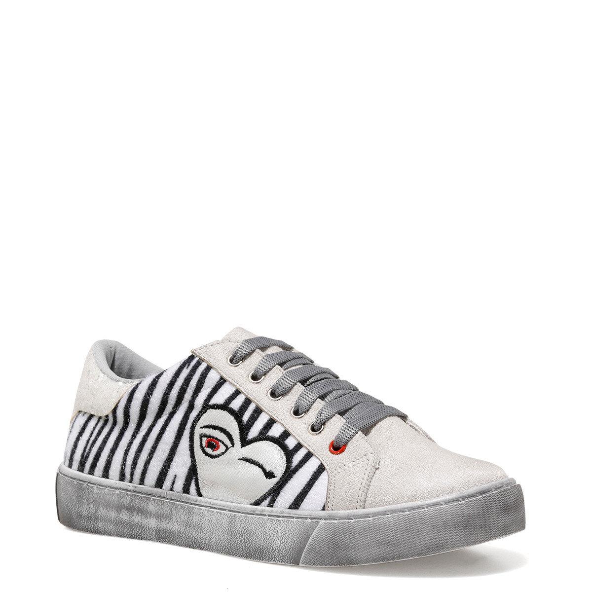 VIMEL Gri Kadın Fashion Sneaker