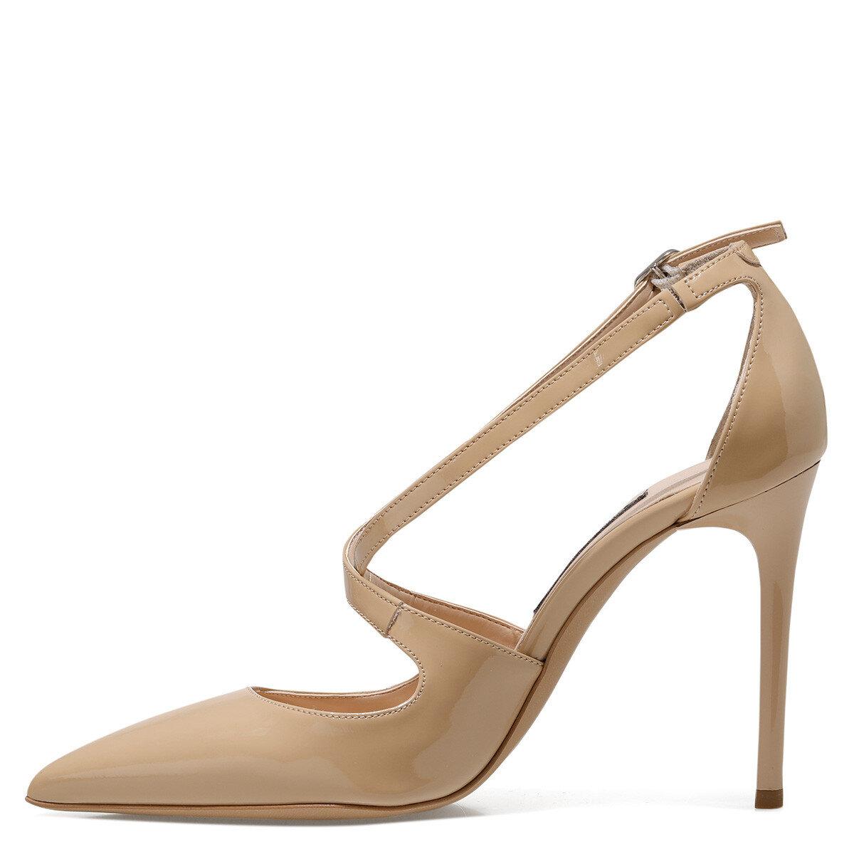 STEFANIA NUDE Kadın Gova Ayakkabı