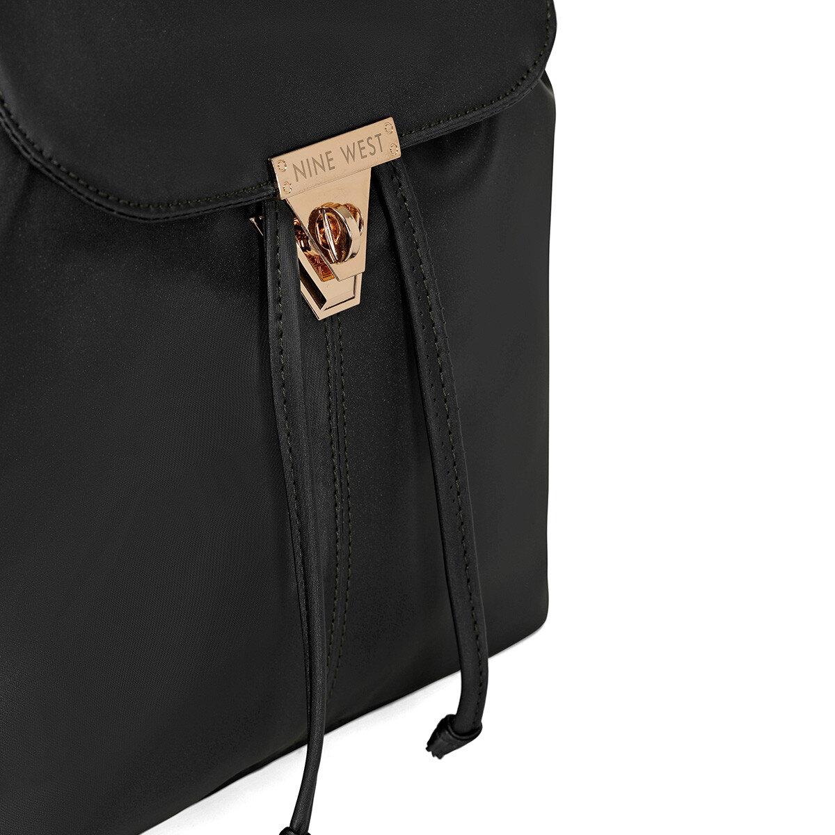 PADRINO Siyah Kadın Sırt Çantası