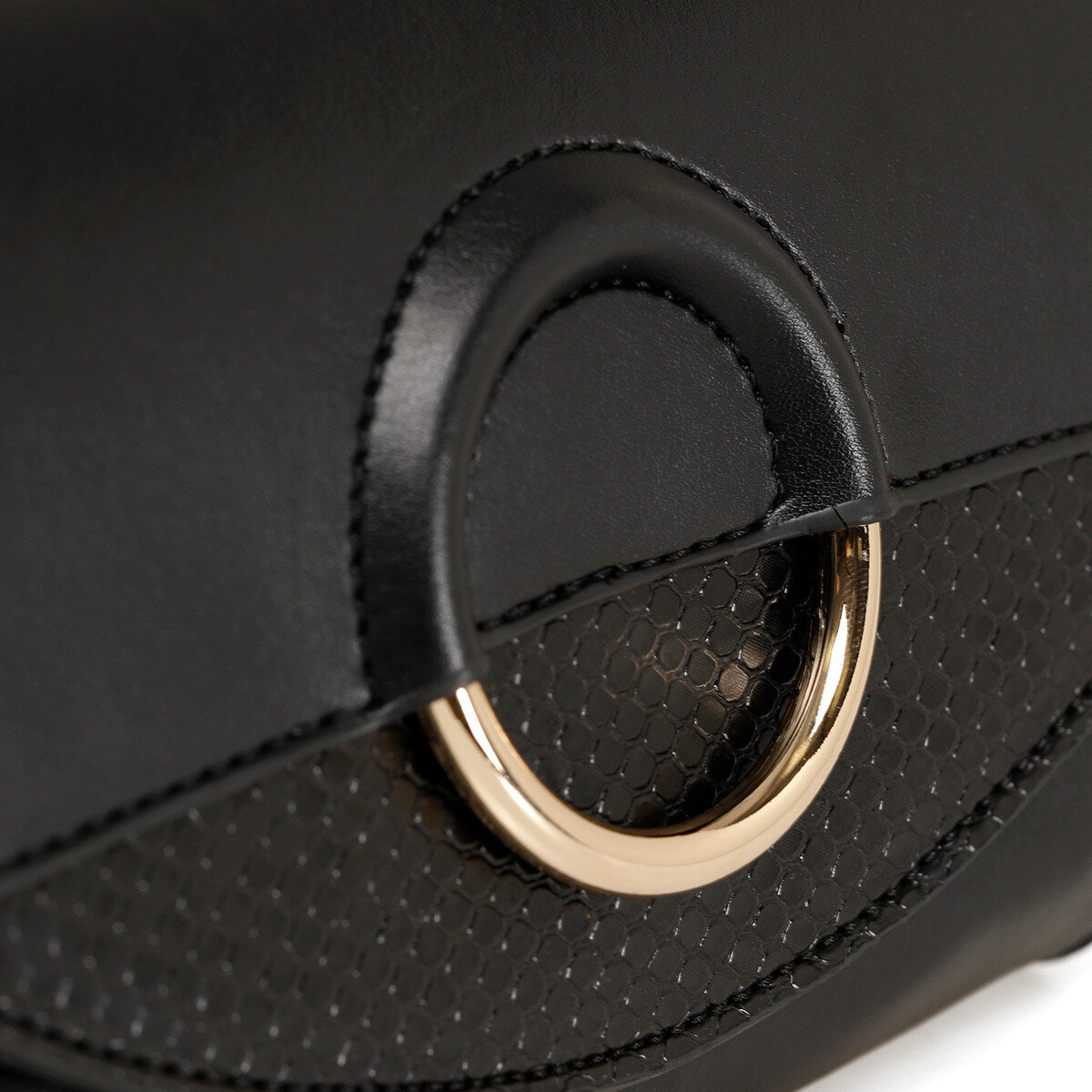 RINGO Siyah Kadın Bel Çantası