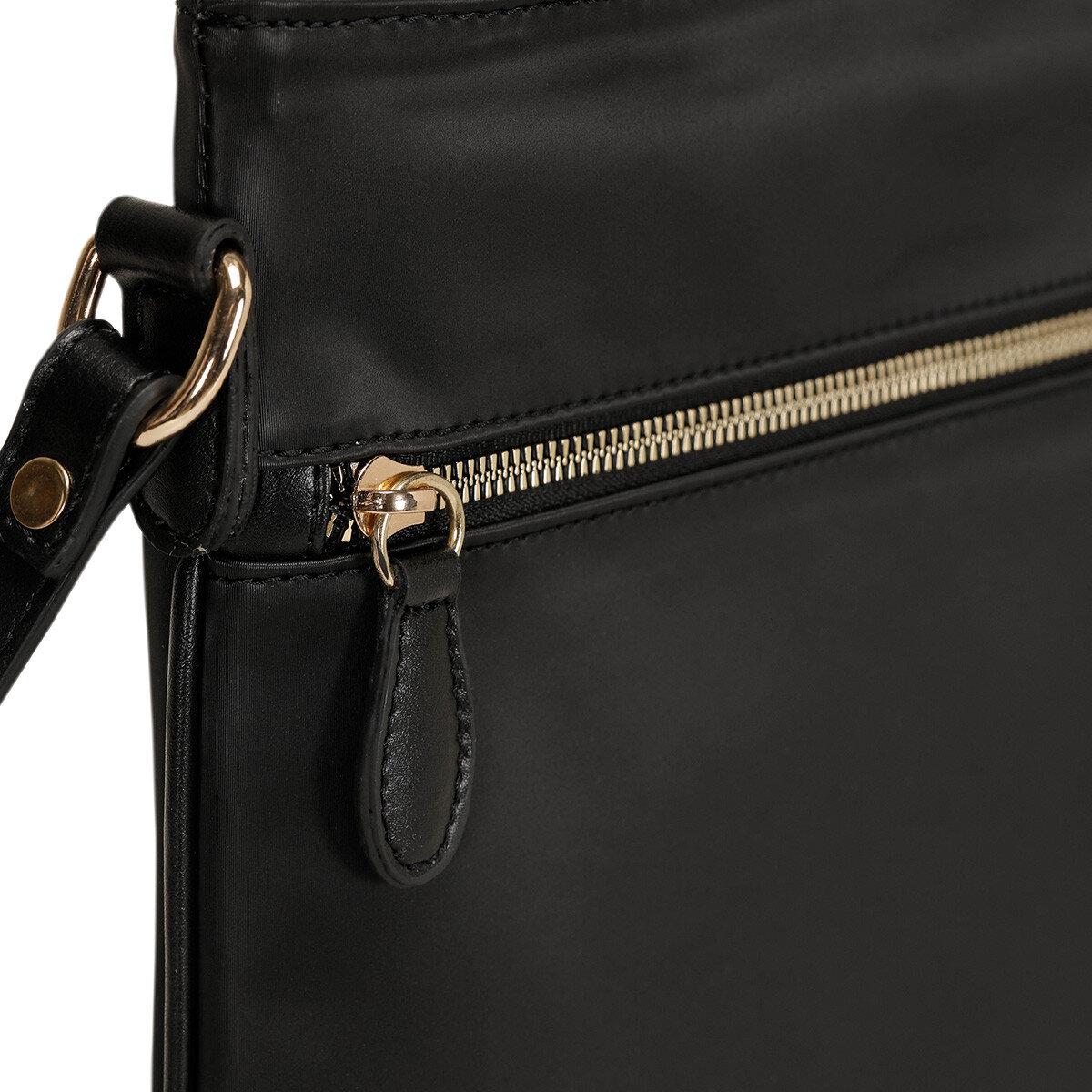 ANMO Siyah Kadın Çapraz Çanta
