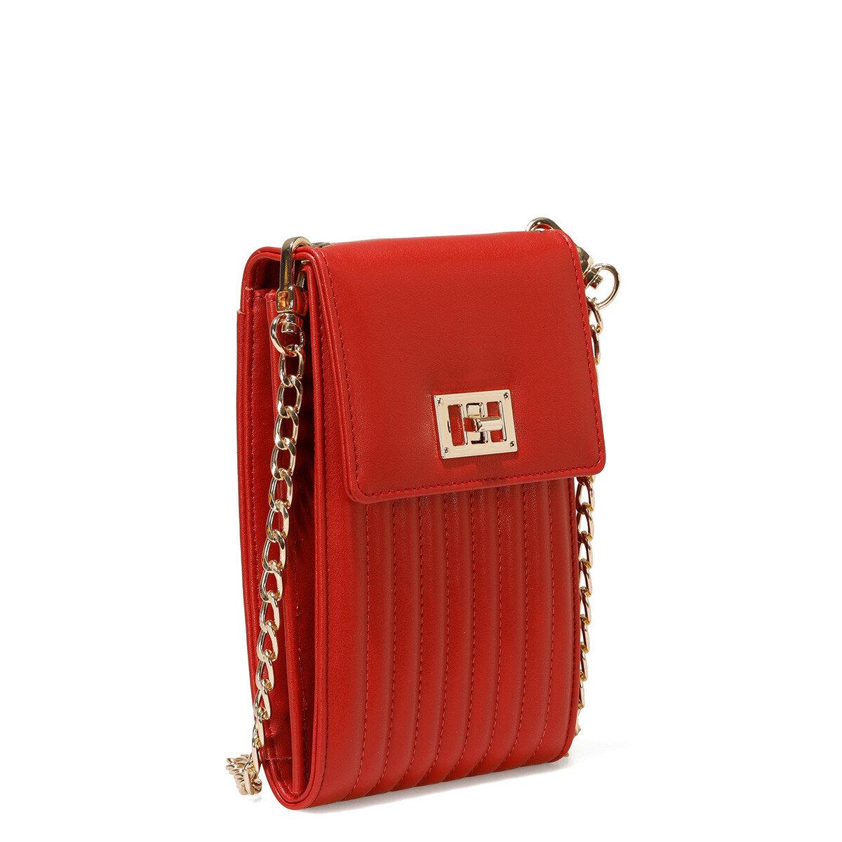 RIBECA Kırmızı Kadın Çapraz Çanta