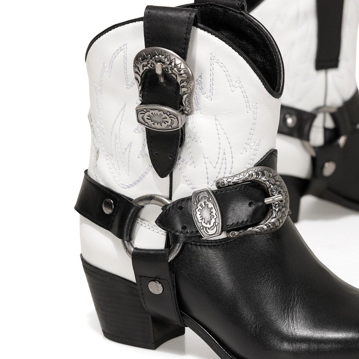 SANDY Siyah Kadın Topuklu Bot