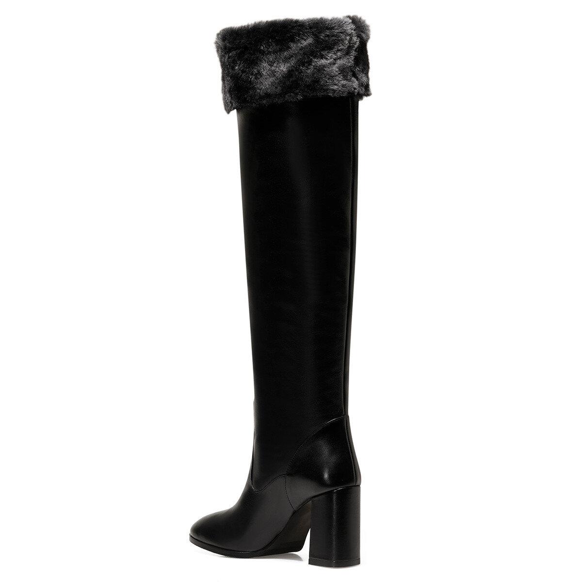 GRECO Siyah Kadın Topuklu Çizme