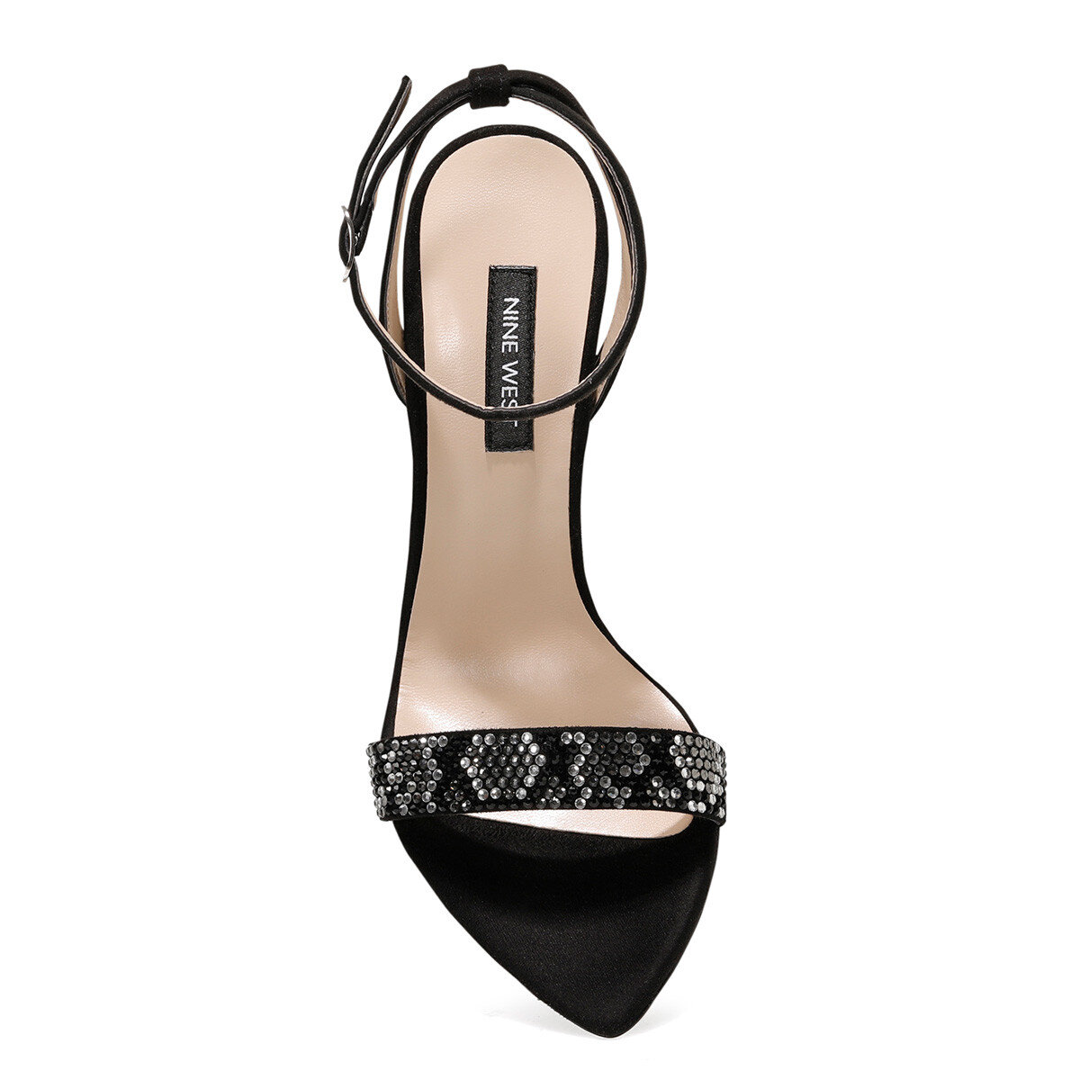 GEORGIA Siyah Kadın Sandalet