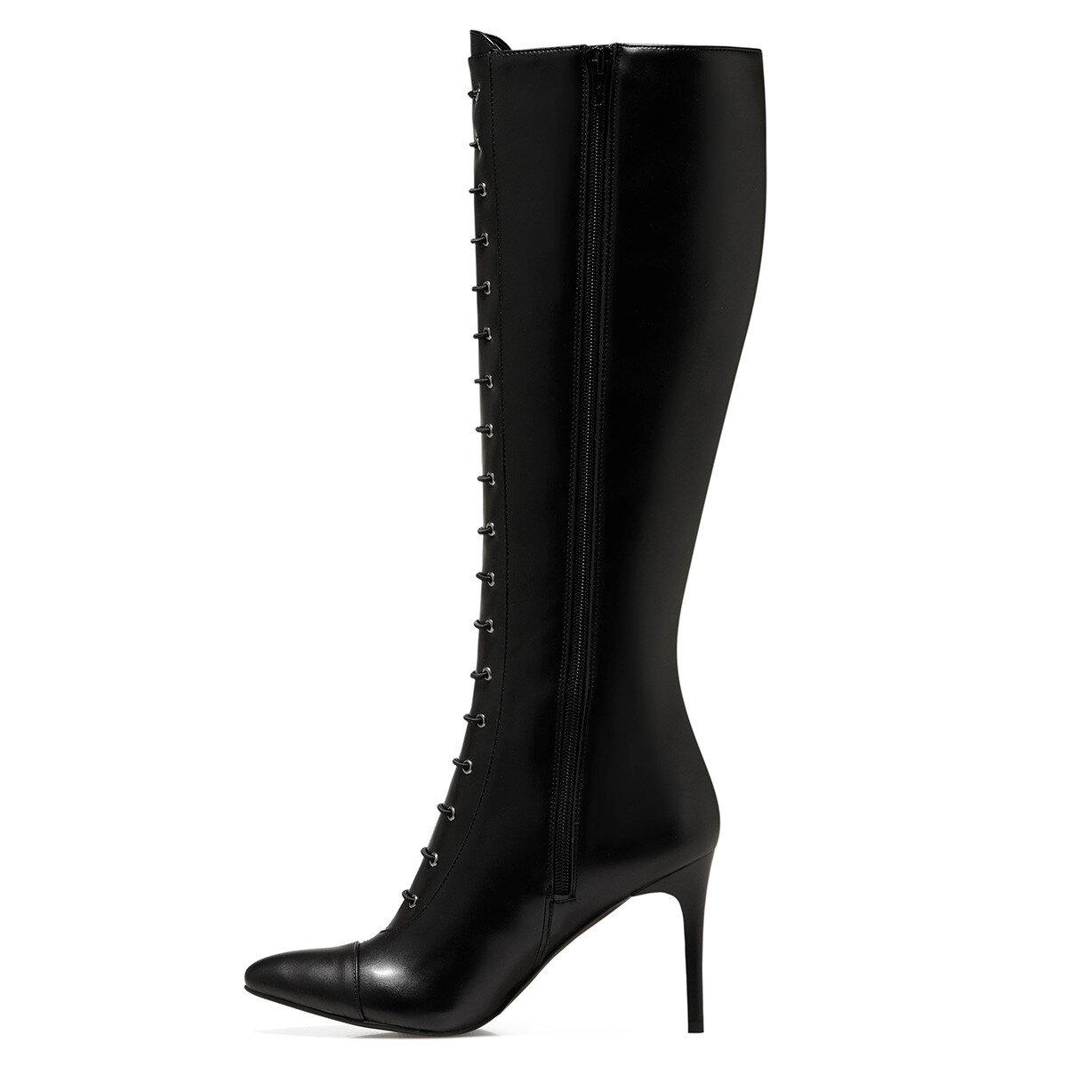 PIPPA Siyah Kadın Topuklu Çizme