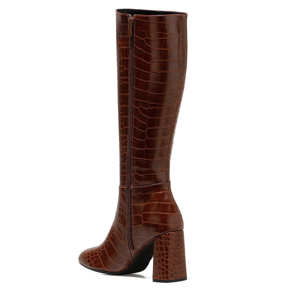 SIMMA-CR Taba Kadın Topuklu Çizme