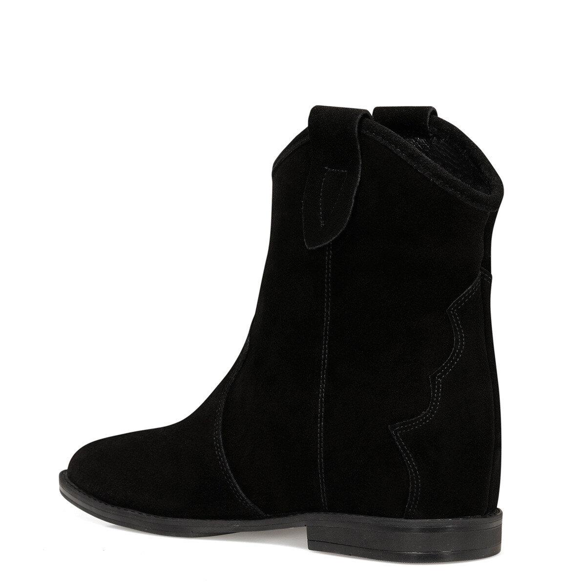 ALINA Siyah Kadın Topuklu Bot