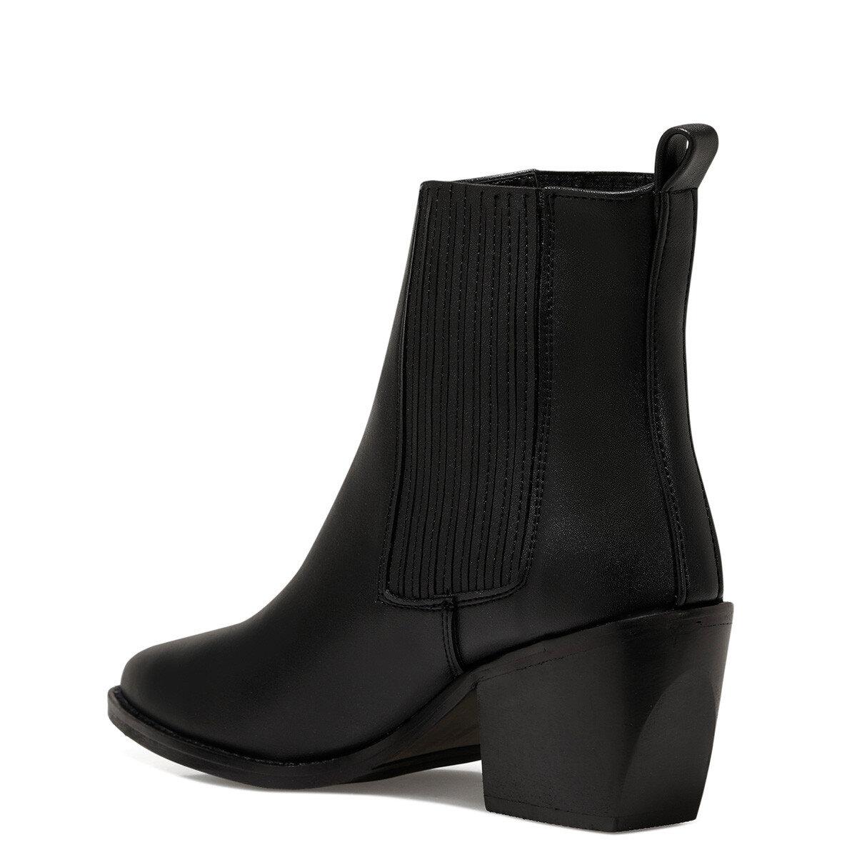 BARGAN Siyah Kadın Topuklu Bot