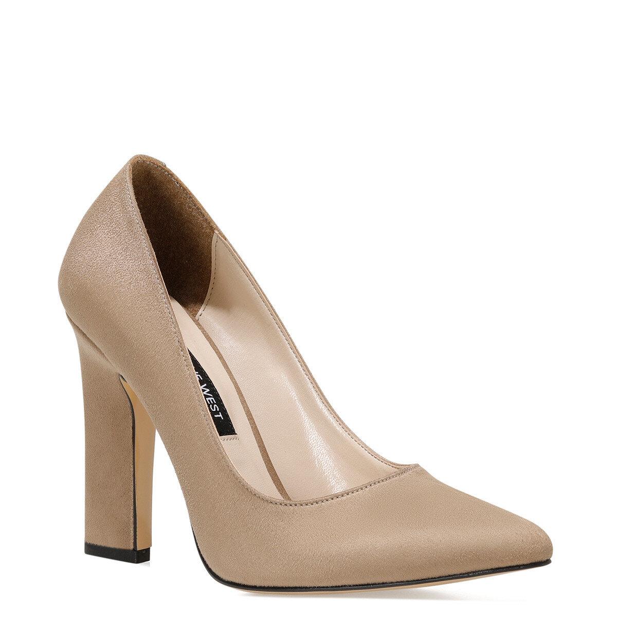 FLAMUR Vizon Kadın Topuklu Ayakkabı