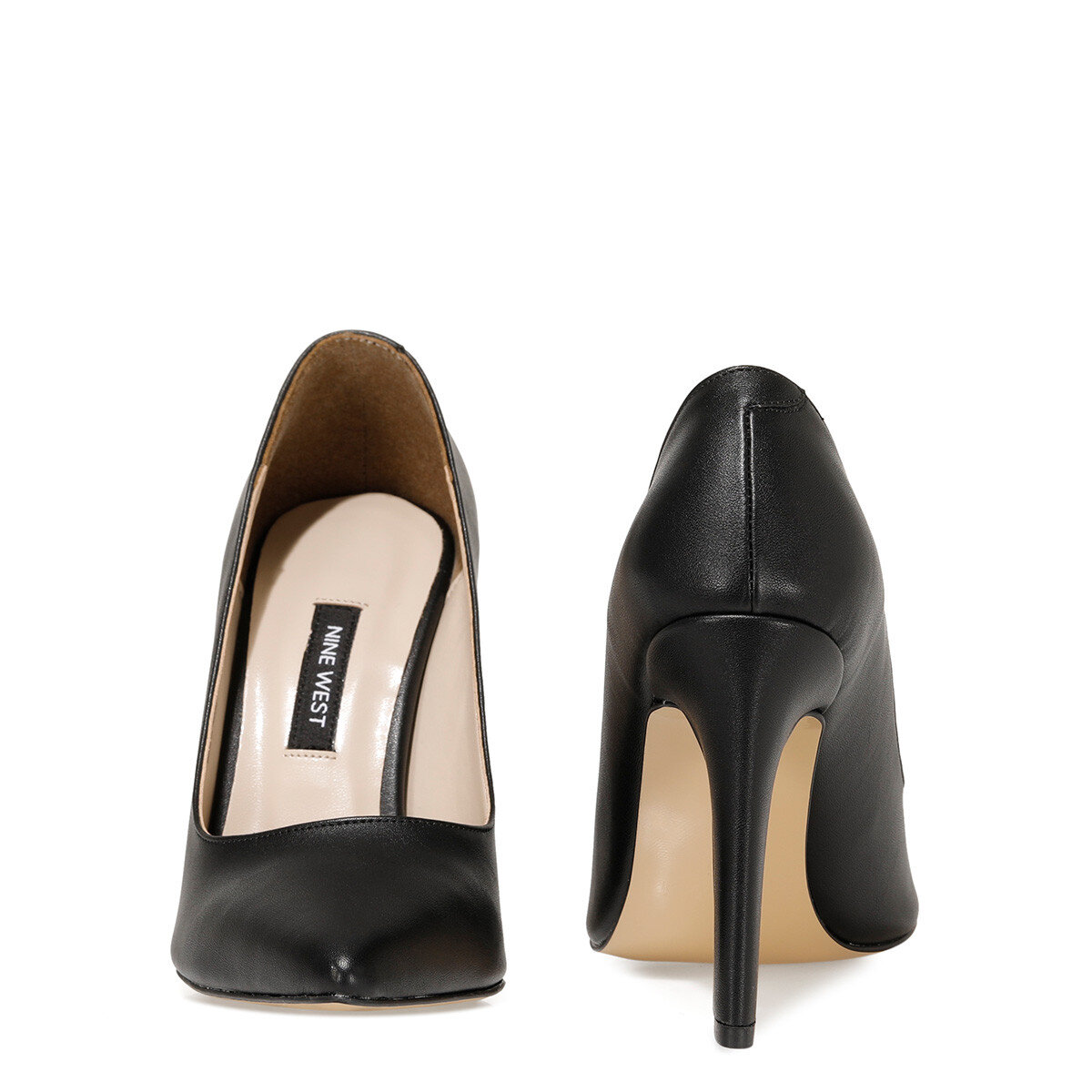 FLAMUR2 Siyah Kadın Topuklu Ayakkabı