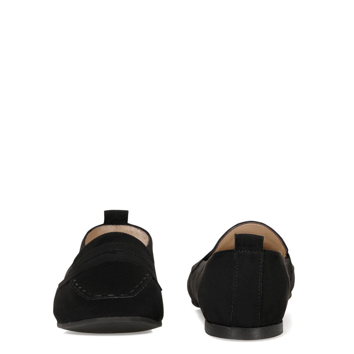 LEFUR3 Siyah Kadın Loafer