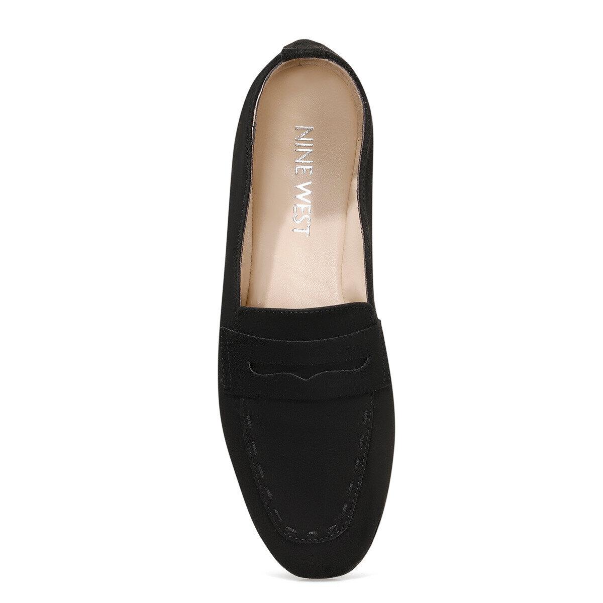 LEFUR3 Siyah Kadın Loafer Ayakkabı
