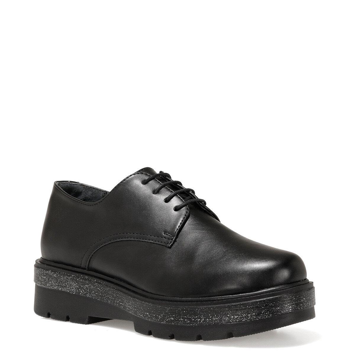 LIBER Siyah Kadın Maskulen Ayakkabı