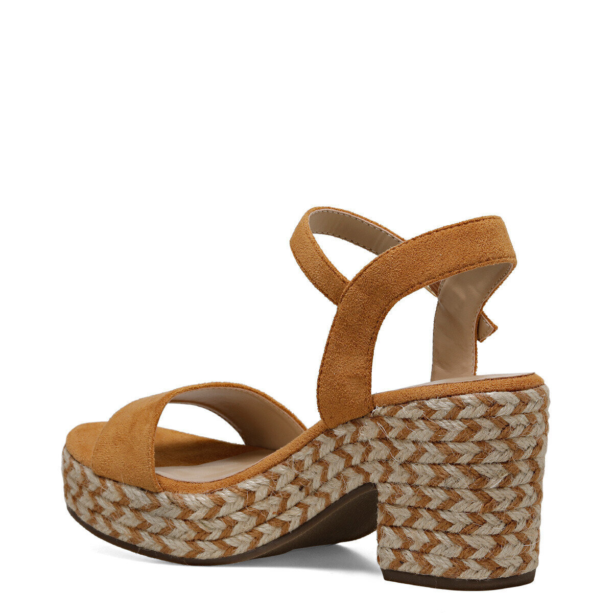 NORINA Camel Kadın Topuklu Sandalet