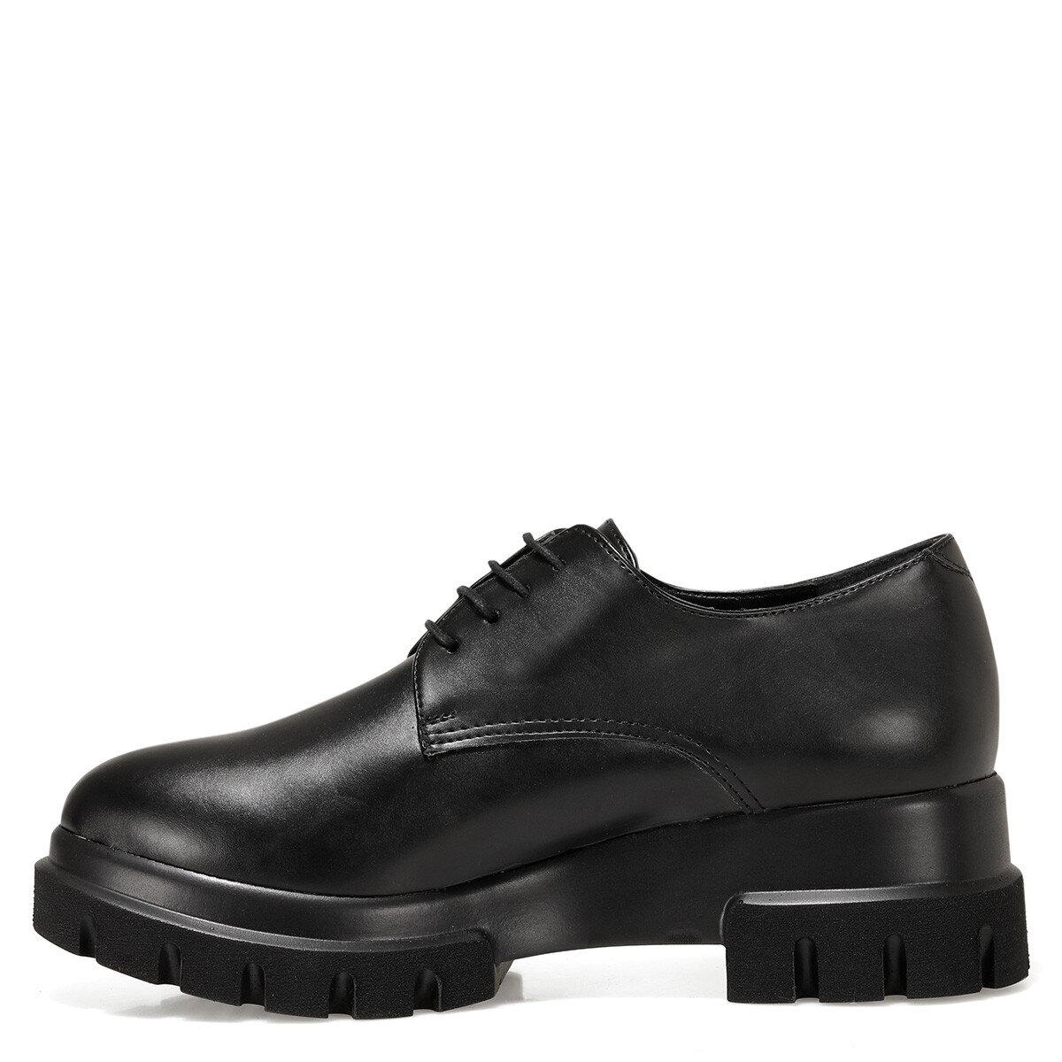 HELLE Siyah Kadın Maskulen Ayakkabı