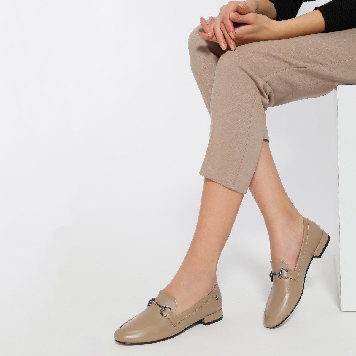 SUELA2 Vizon Kadın Loafer
