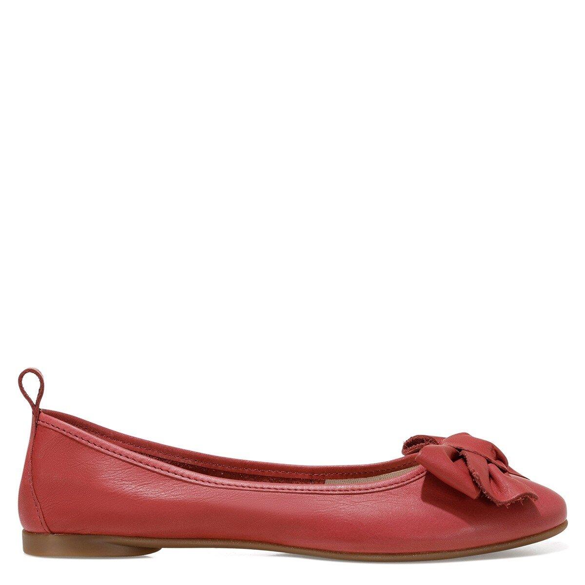 GRETA Kırmızı Kadın Babet
