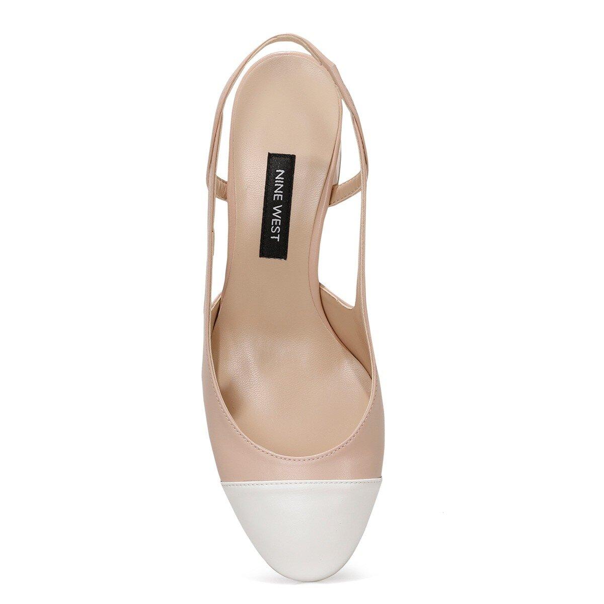 SENDAR Pudra Kadın Topuklu Ayakkabı