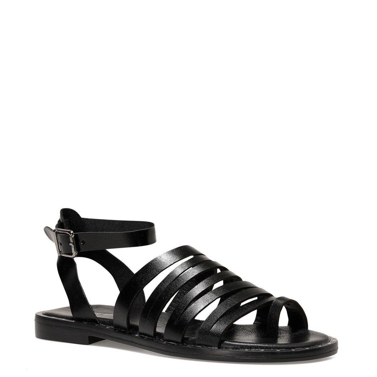 MERNIDA 1FX Siyah Kadın Sandalet
