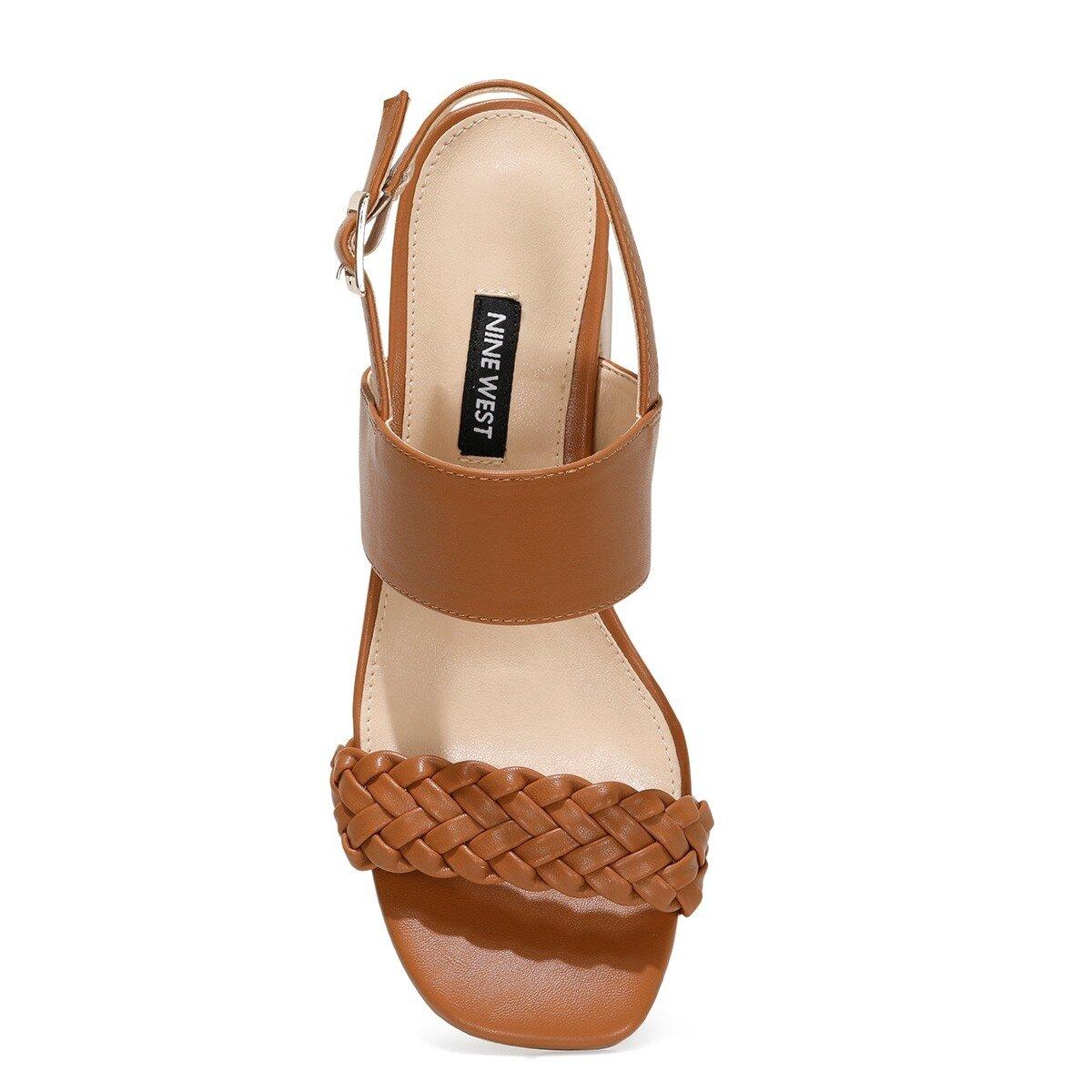 BRANTSON 1FX Taba Kadın Sandalet