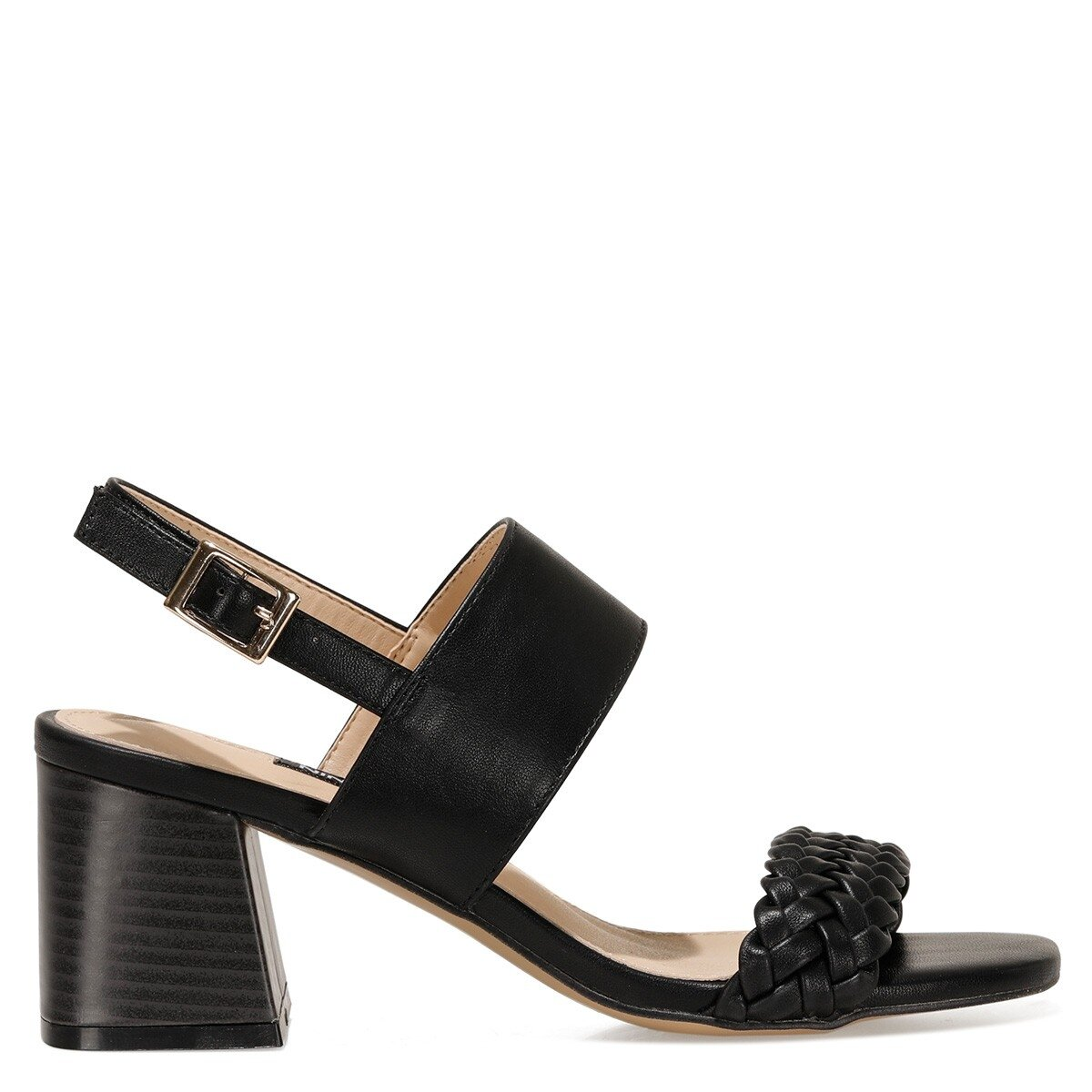BRANTSON 1FX Siyah Kadın Sandalet