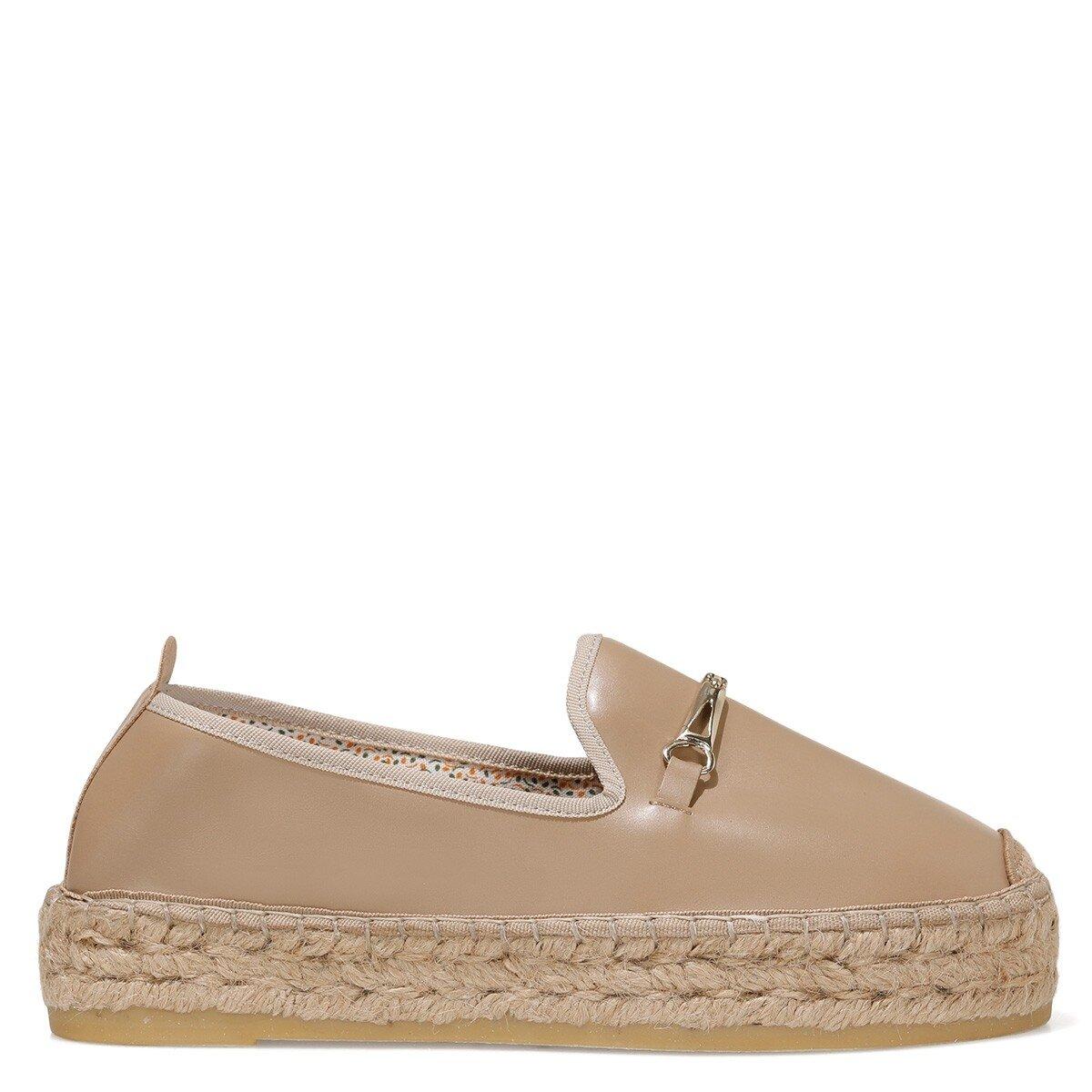 MASQUE 1FX Bej Kadın Espadril Ayakkabı