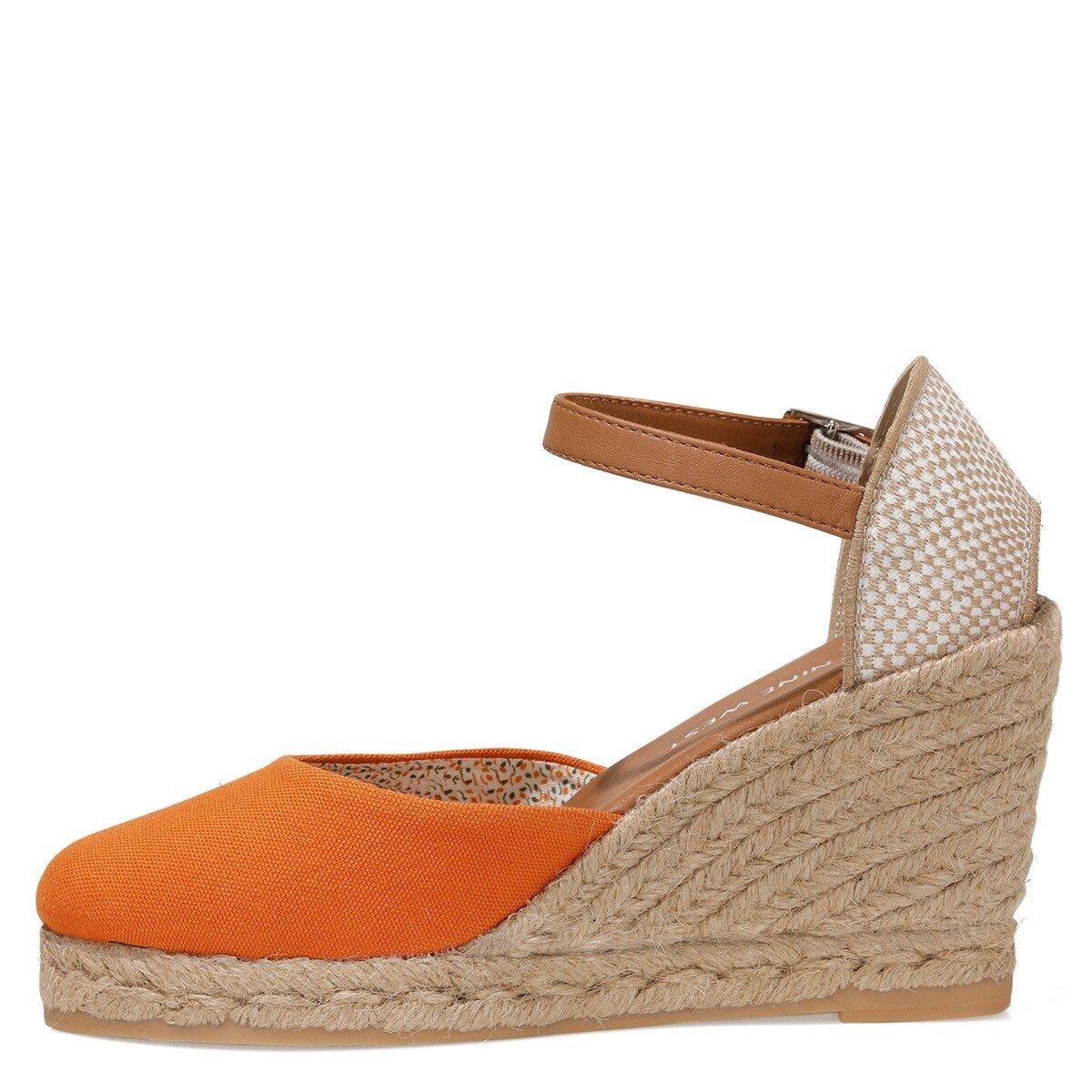 ARTEMISIA 1FX Turuncu Kadın Dolgu Topuk Sandalet