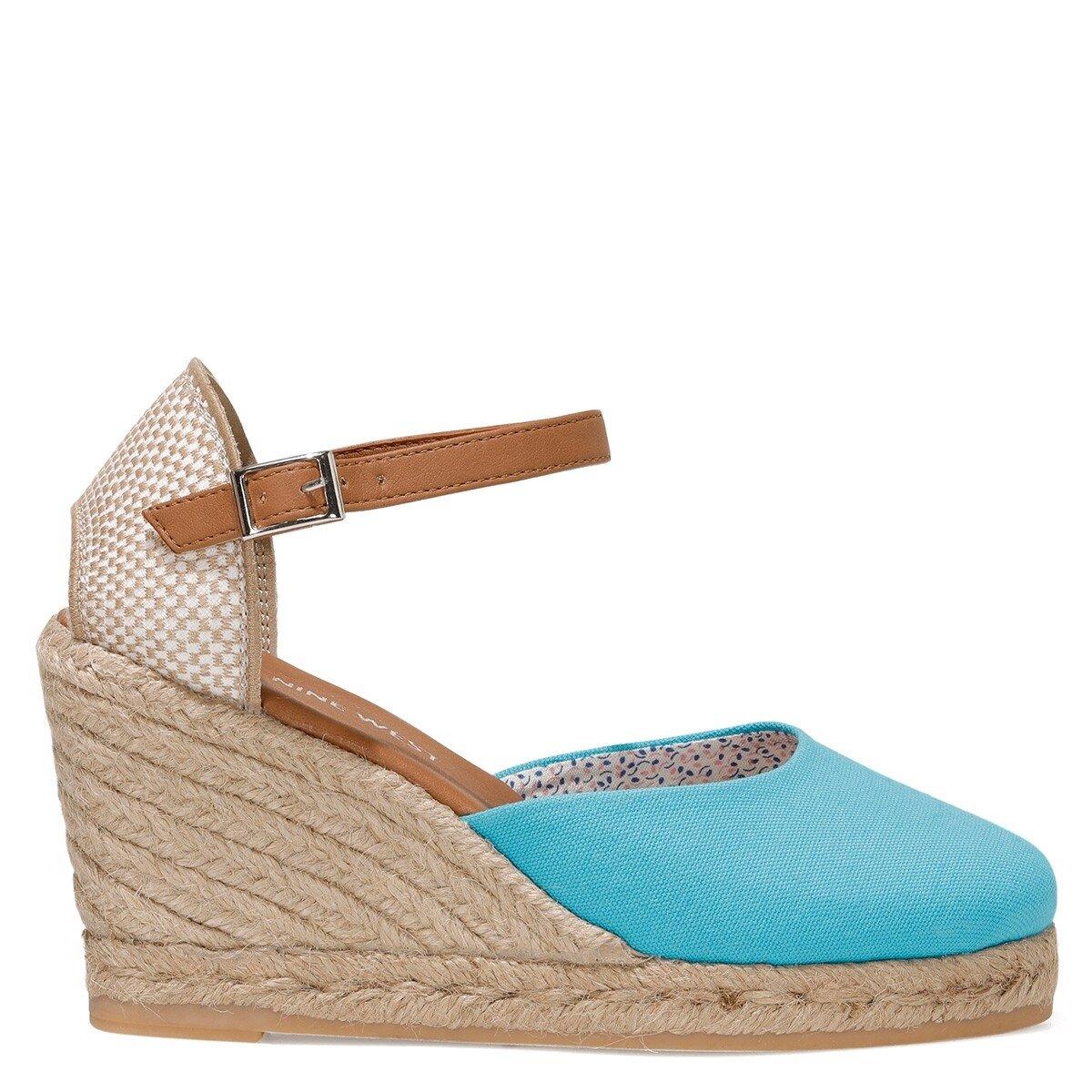 ARTEMISIA 1FX Mavi Kadın Dolgu Topuklu Sandalet