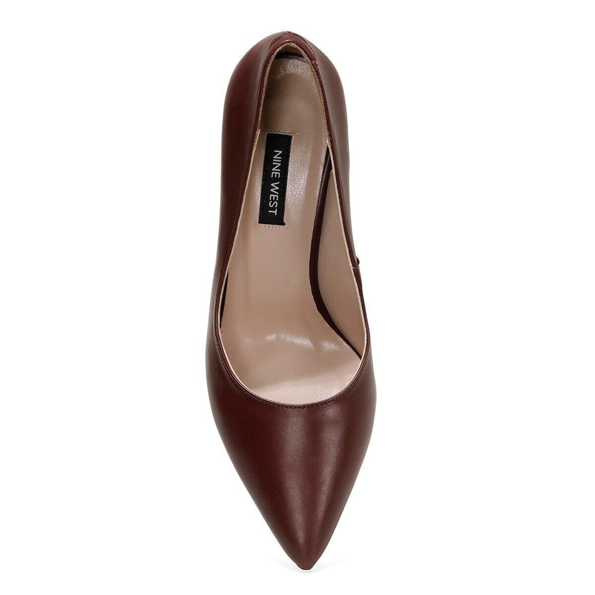 GENTI Bordo Kadın Gova Ayakkabı