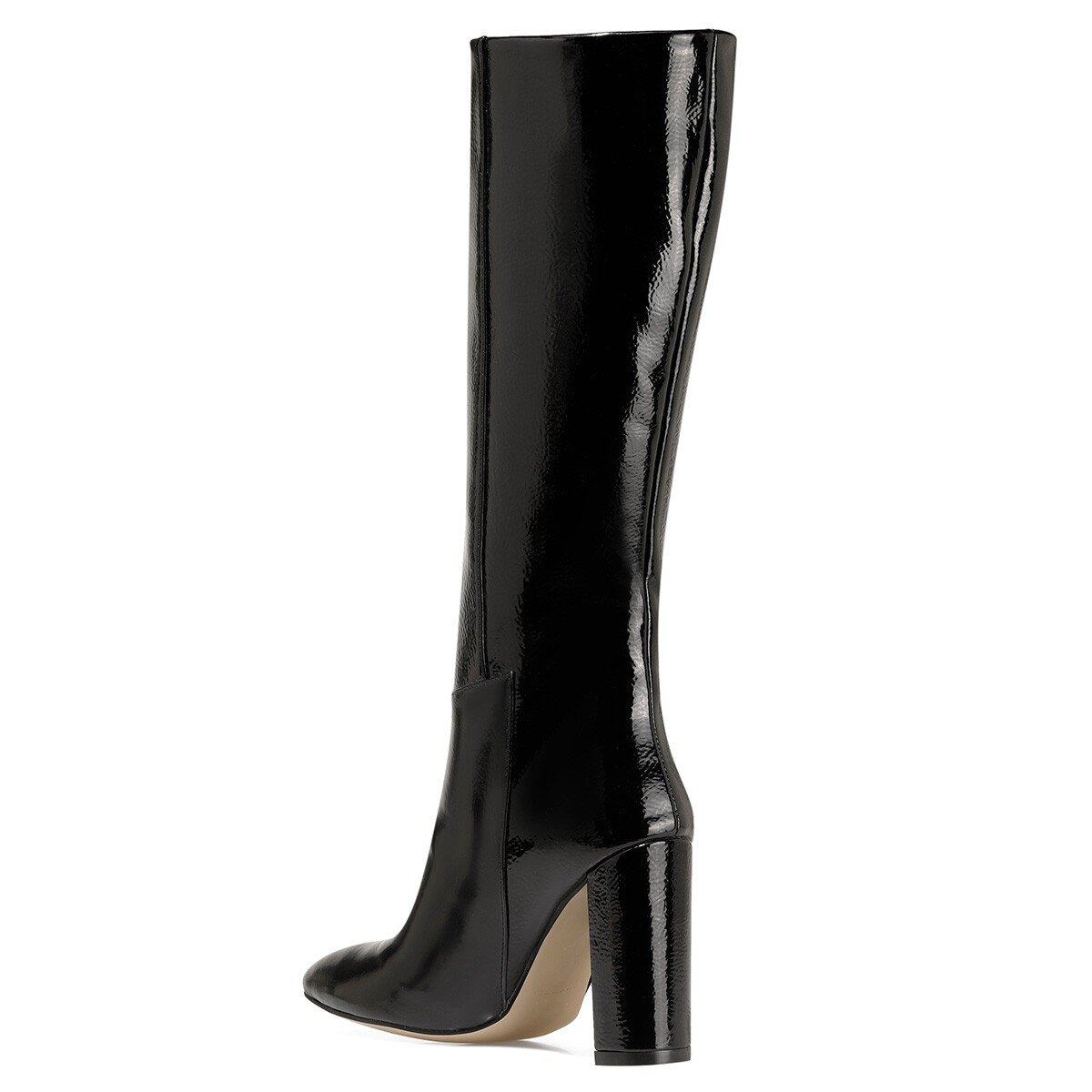 MIMA Siyah Kadın Topuklu Çizme