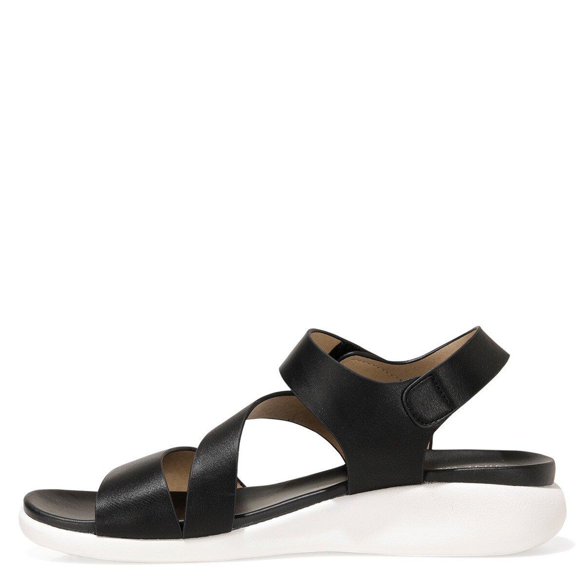 ZIZI 1FX Siyah Kadın Düz Sandalet
