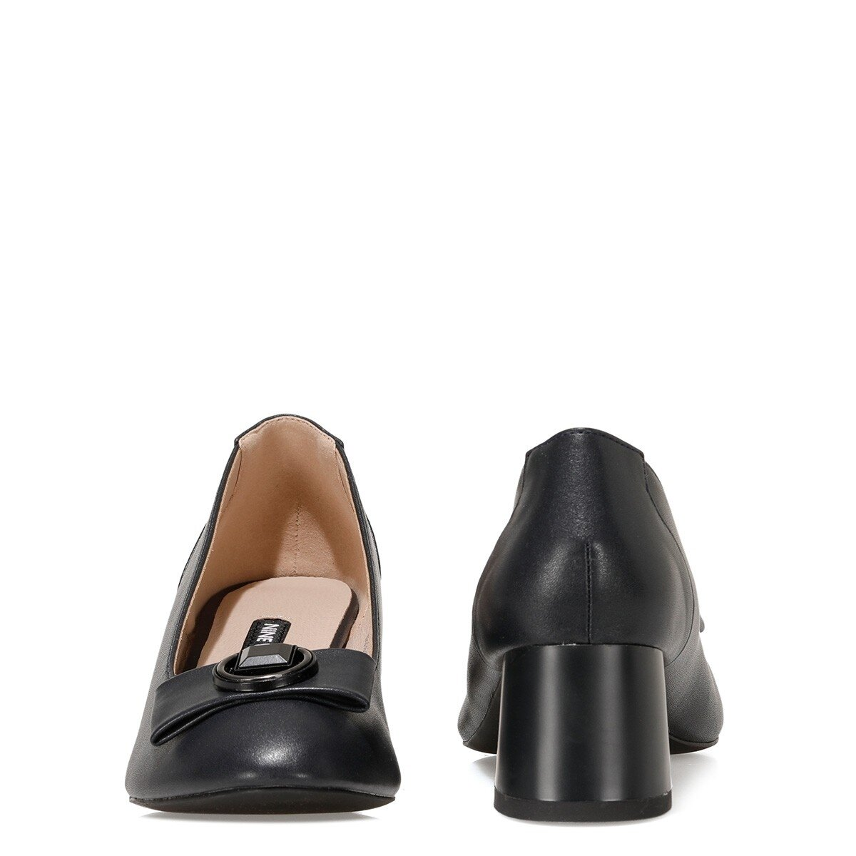 JODEE 1FX Lacivert Kadın Topuklu Ayakkabı