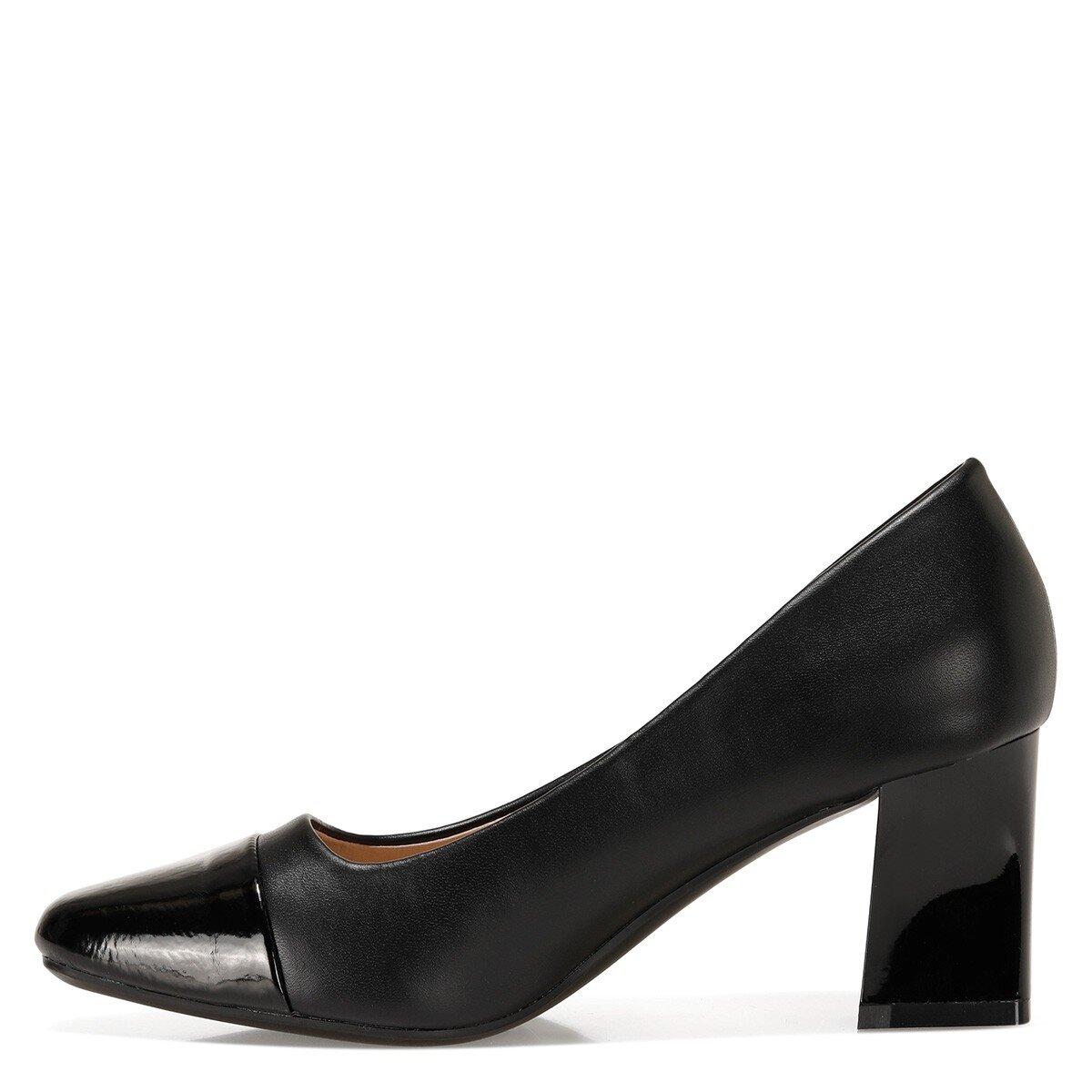 JOLLYRA 1FX Siyah Kadın Topuklu Ayakkabı