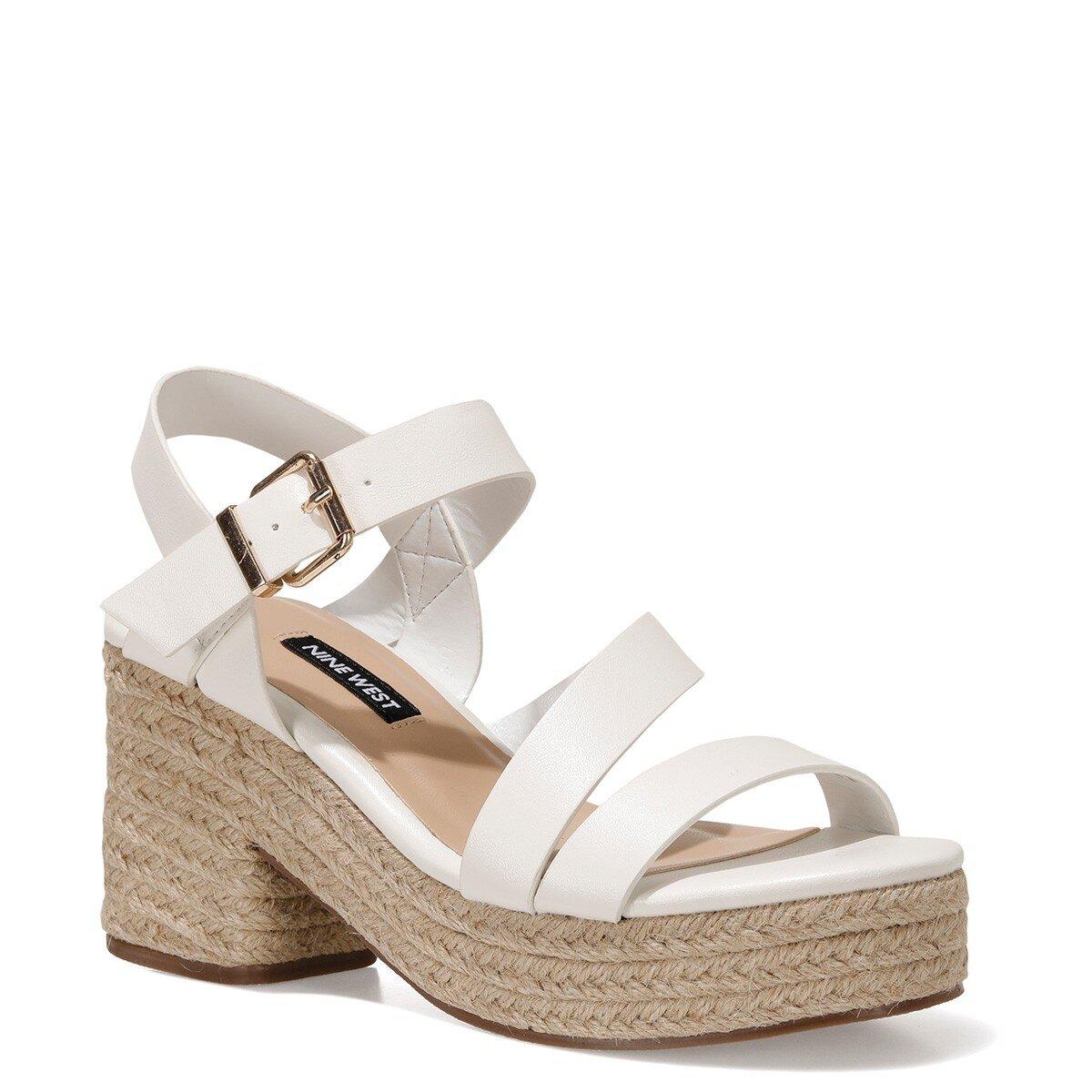 WEASA 1FX Beyaz Kadın Topuklu Ayakkabı