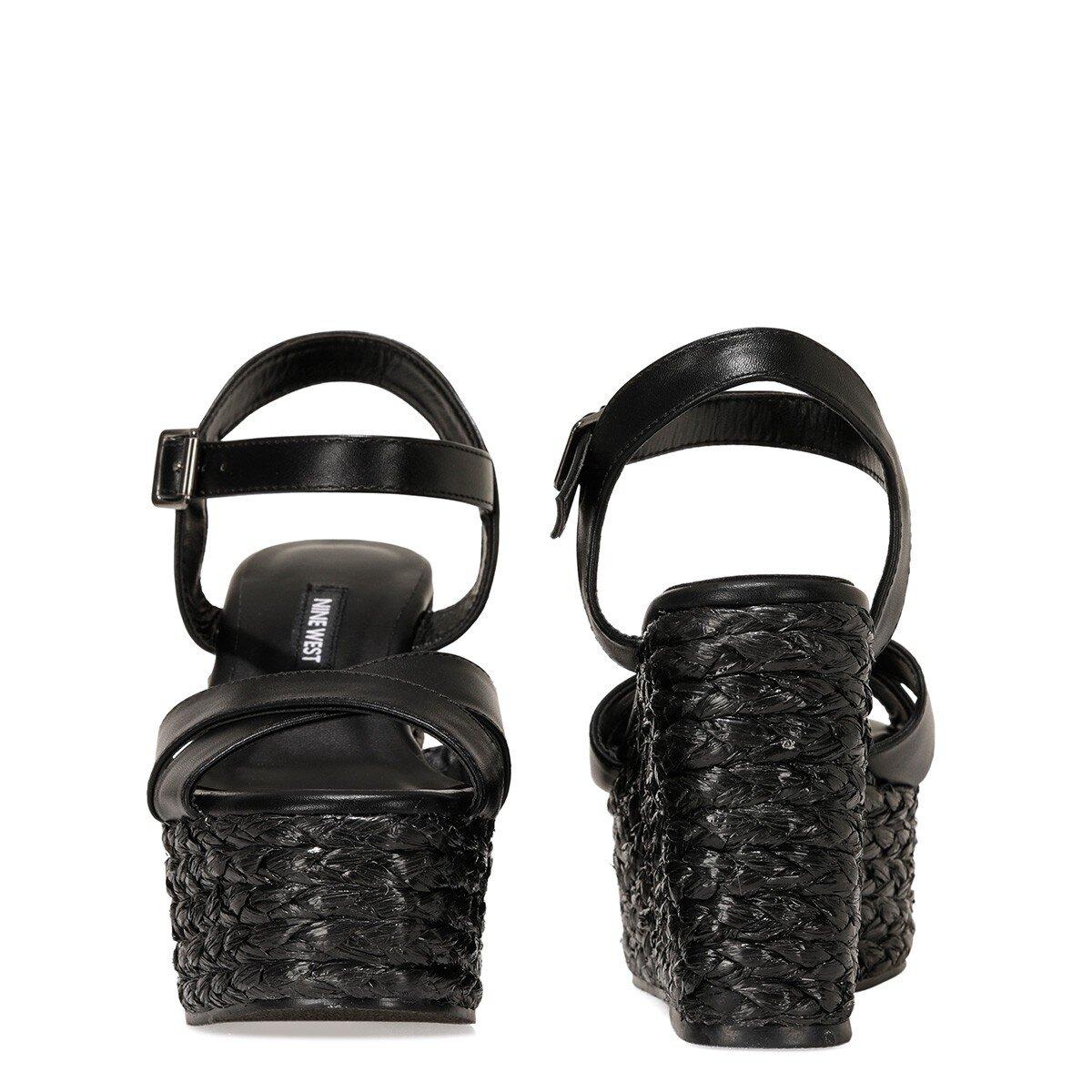 WIEMA 1FX Siyah Kadın Sandalet