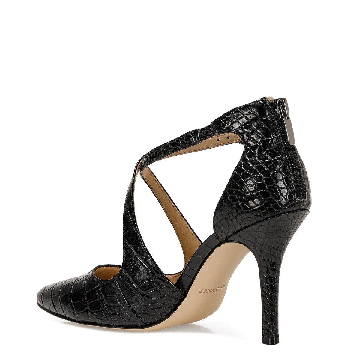 FAYLA3 Siyah Kadın Topuklu Ayakkabı