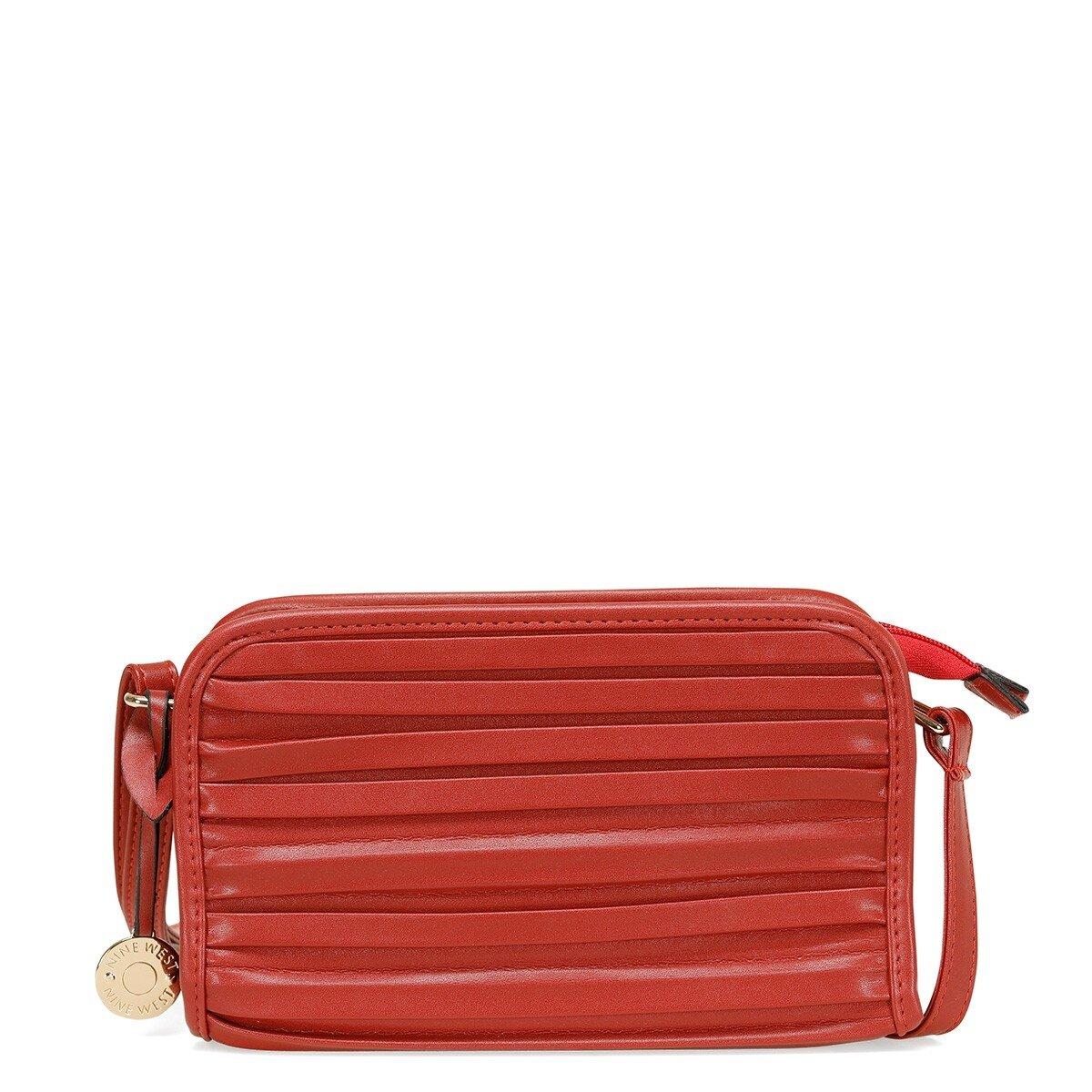 MINEL 1 FX Kırmızı Kadın Çapraz Çanta