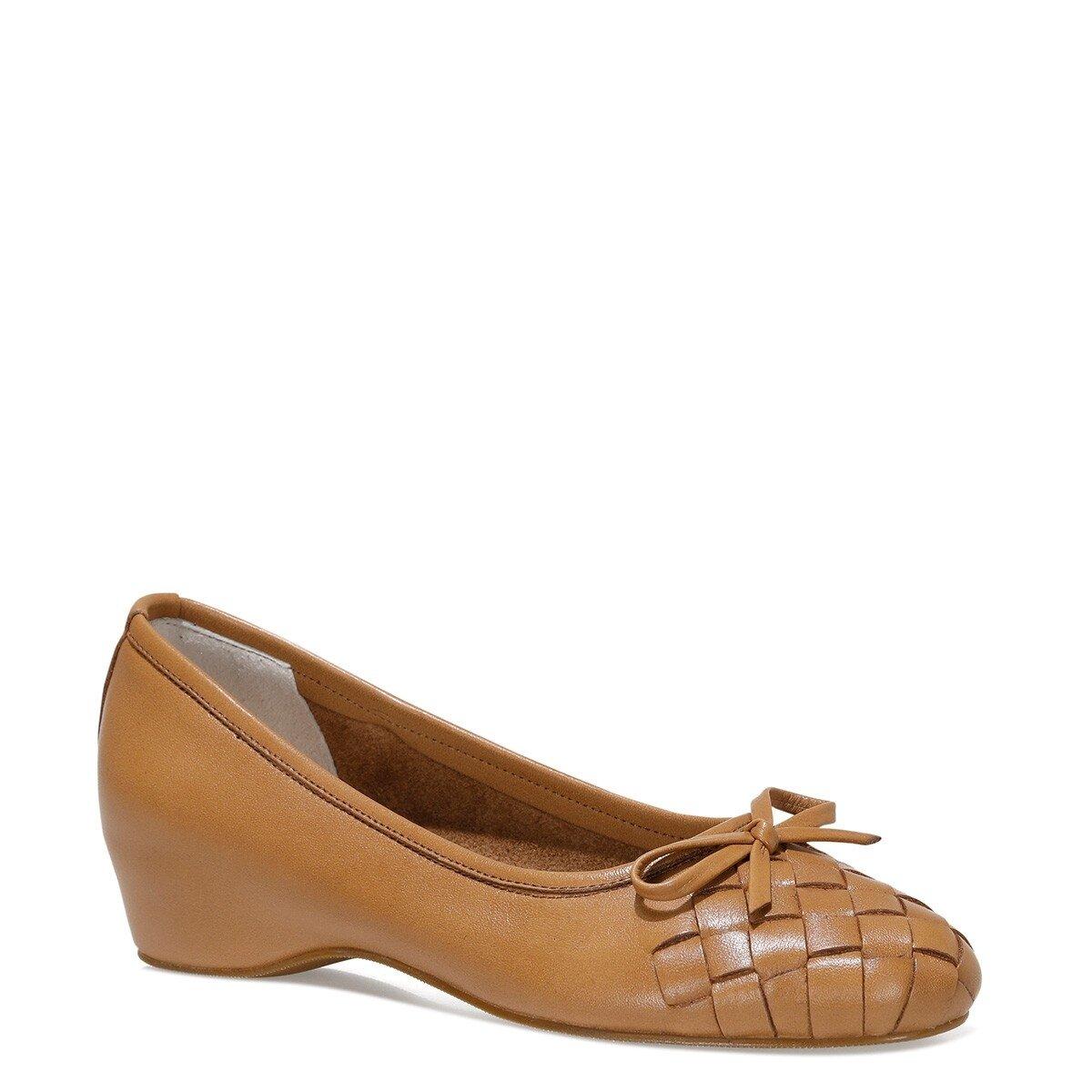 ALEXA 1FX Taba Kadın Dolgu Topuk Ayakkabı