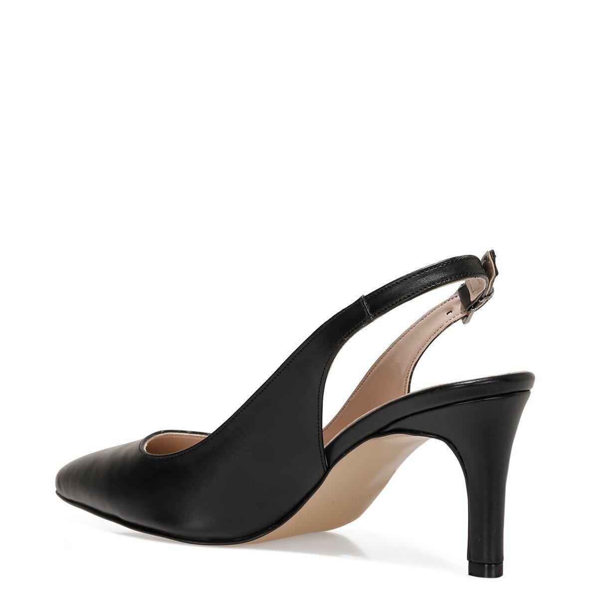HALBEY 1FX Siyah Kadın Gova Ayakkabı