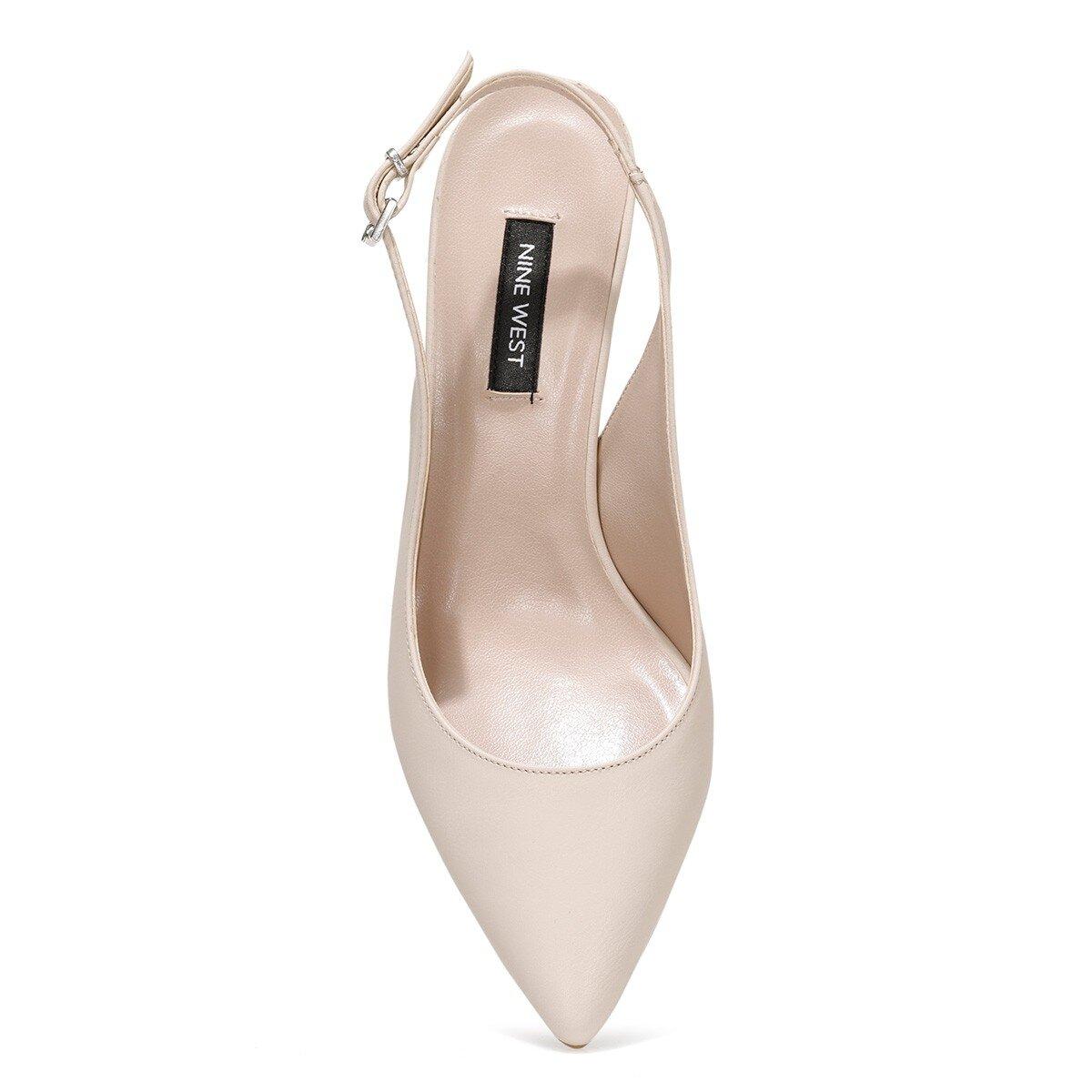 HALBEY 1FX Açık Bej Kadın Gova Ayakkabı