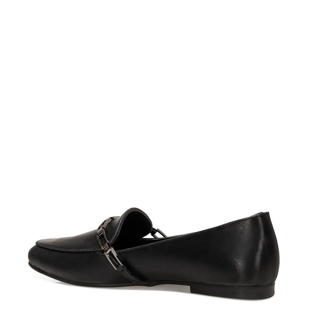 GENDAR 1FX Siyah Kadın Loafer