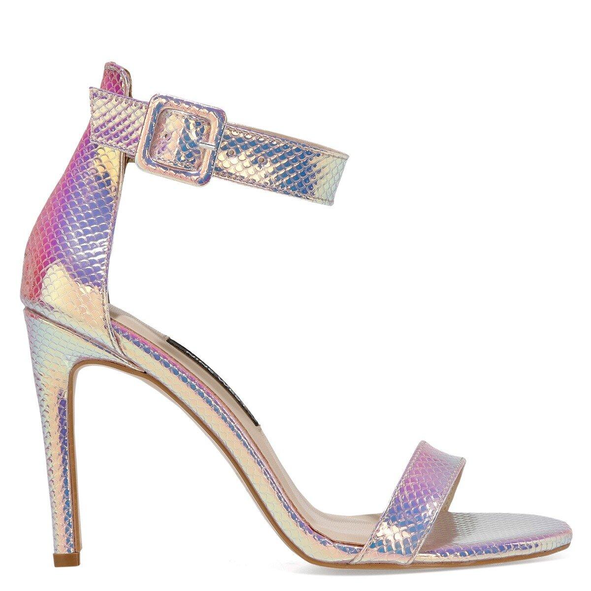LINDIT3 1FX Beyaz Kadın Sandalet